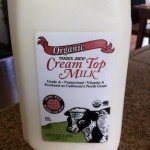 Unhomogenized Organic Milk